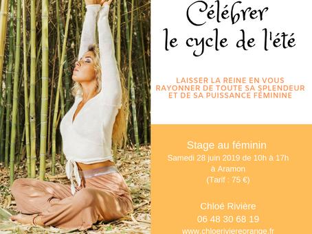 """Stage """"Célébrer le cycle de l'été, se relier à sa nature cyclique"""""""