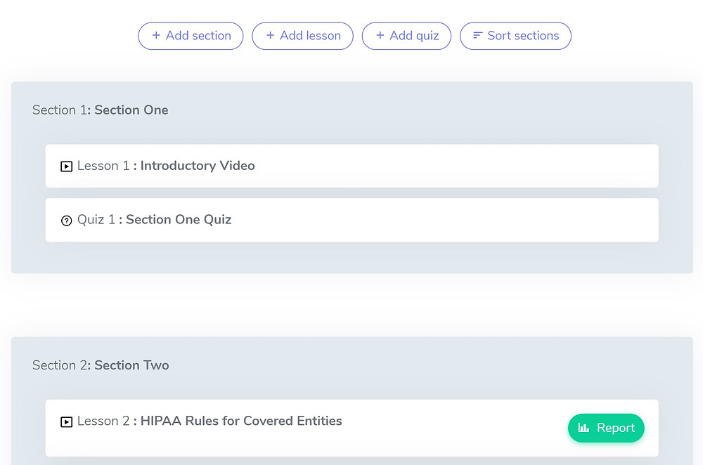 eLearning Course Templates