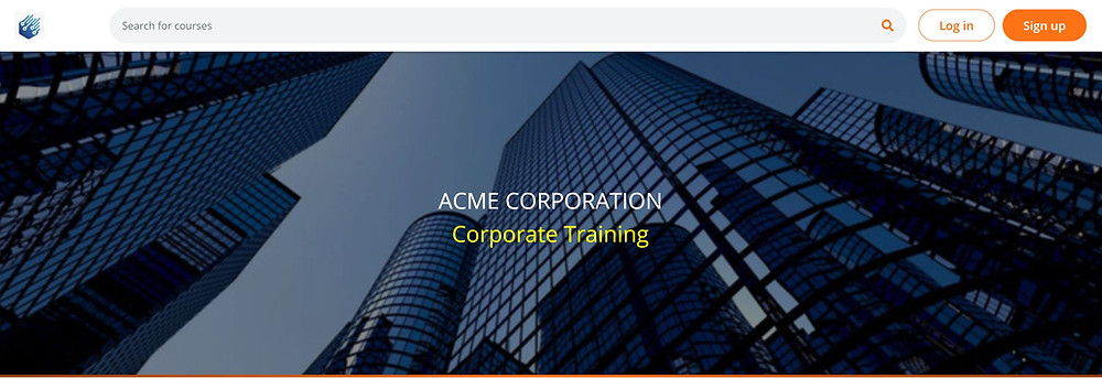 Corporate LMS Platform for Employee Training