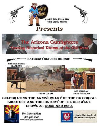 Arizona Gunfighters on October 23rd