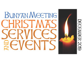 Christmas Services & Events at Bunyan Meeting