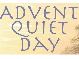 A 'Quiet Day' as we journey through Advent