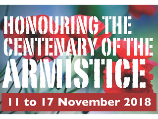 Honouring the Centenary of the Armistice