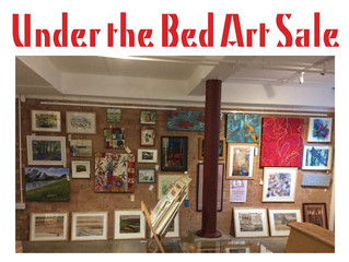 Under the Bed Art Sale