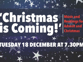 'Christmas Is Coming!' Music & Readings