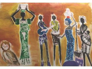 'Finger Painting Inspired By Art'