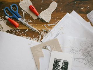 Linocut Printmaking - just for you!