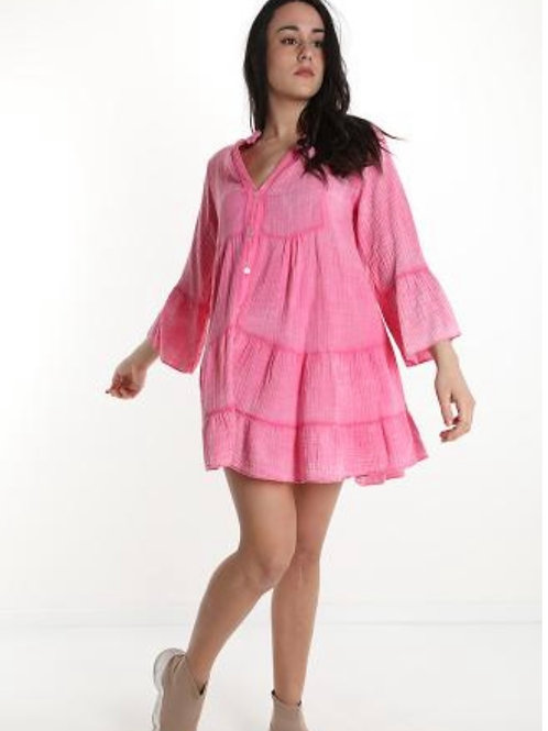 Boho Kleid oder Tunika Bluse