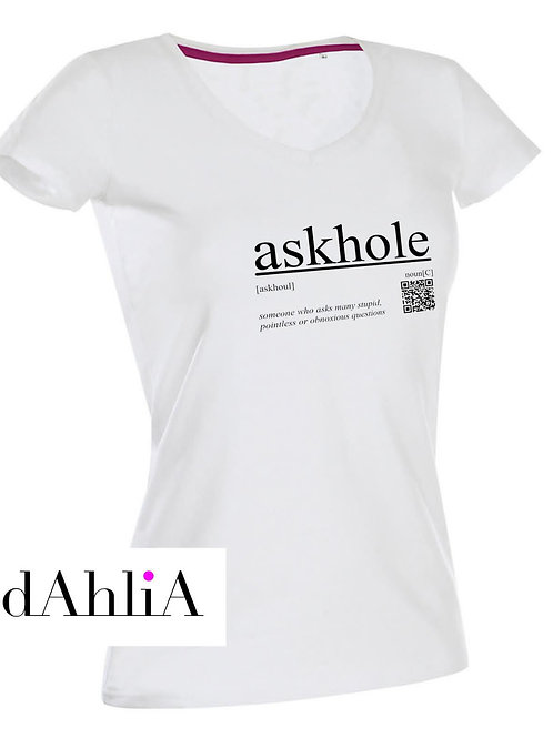 Stylisches T-Shirt #askhole
