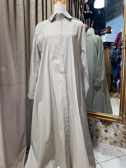 Hemdblusen Kleid bis Grösse 42