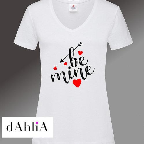 Stylisches T-Shirt be mine