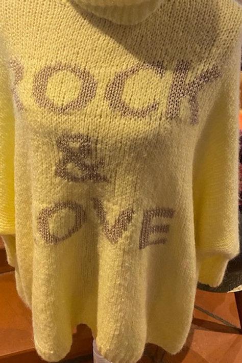 Pullover Rock mit Rollkragen