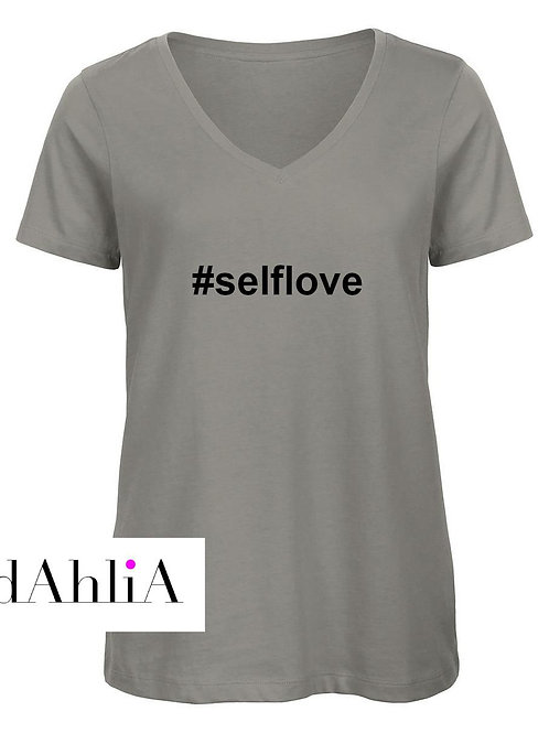 Stylisches T-Shirt #selflove