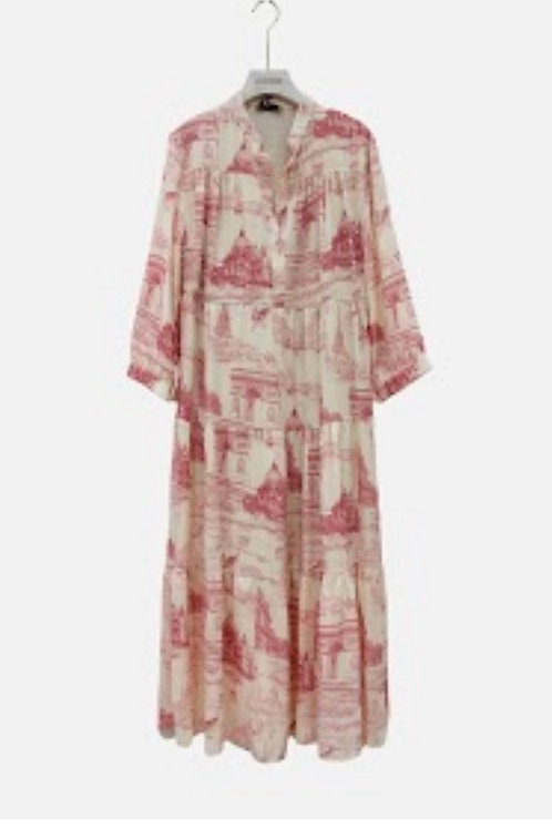 Boho Kleid maxi mit Musterung