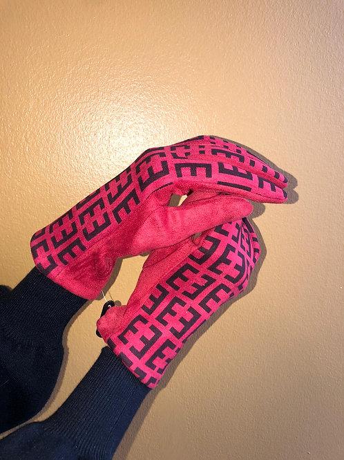Edle Handschuhe gemustert