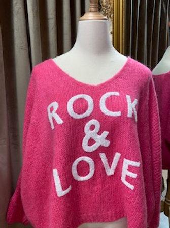 Pullover Rock & Love