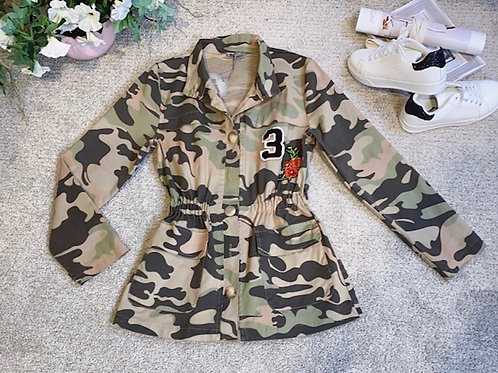 Jacke im Camouflage Muster
