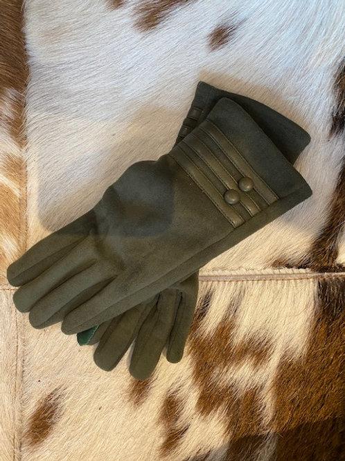 Edle Handschuhe mit Knöpfe