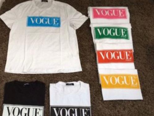 T-Shirt mit Aufdruck Vogue