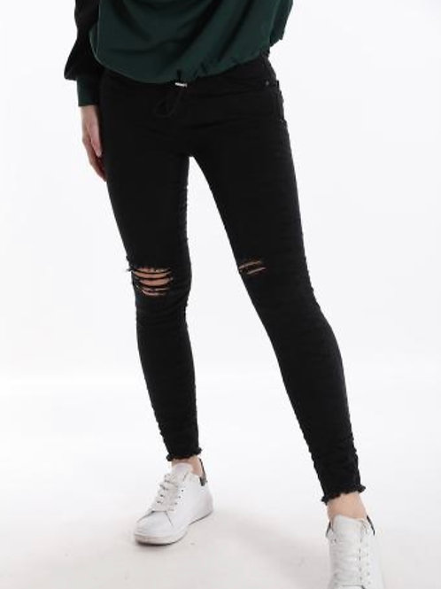 Jeans zerrissen