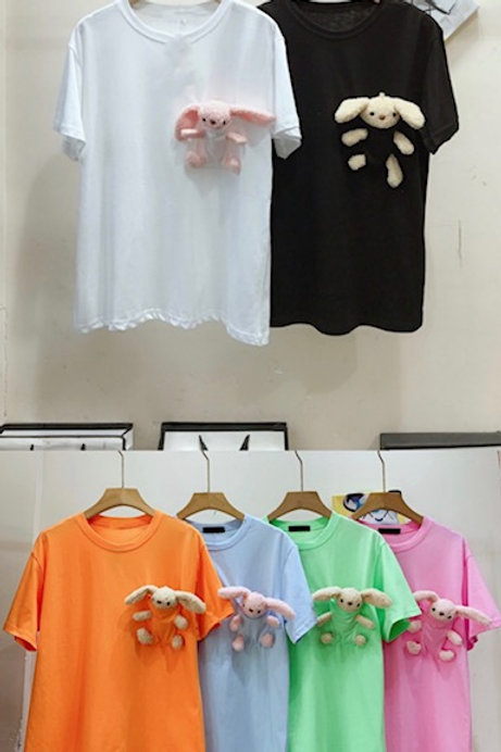 T-Shirt mit Hase