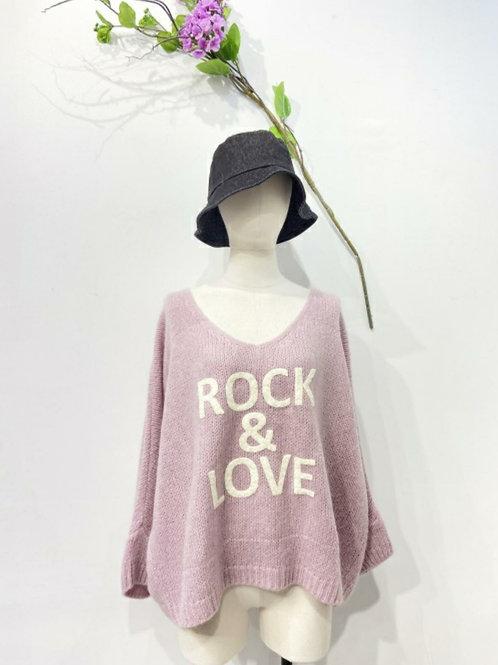 Rock & Love  Pullover