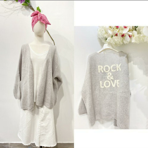 Rock and Love Pullover