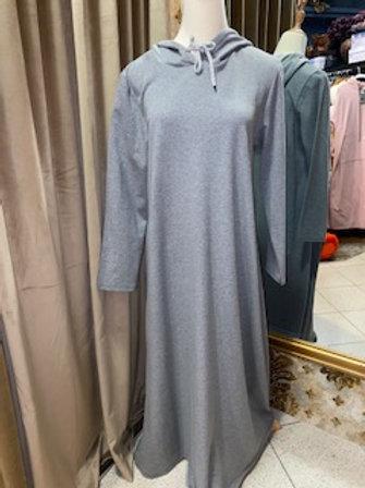 Sweatshirt Kleid ohne Aufschrift