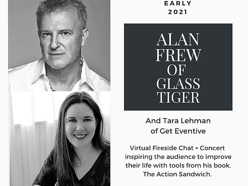 Virtual Fireside Chat:  Alan Frew of Glass Tiger