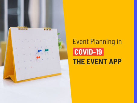 Event Planning in COVID-19: THE EVENT APP