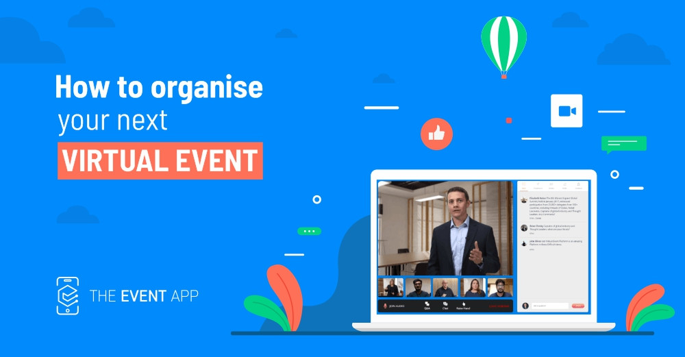 Virtual Events - The Event App