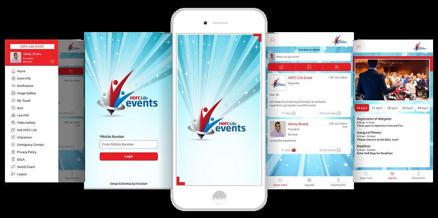 HDFC Life Events App