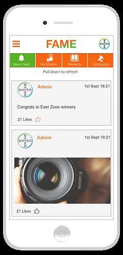 Fame - Employee rewards & recognition app