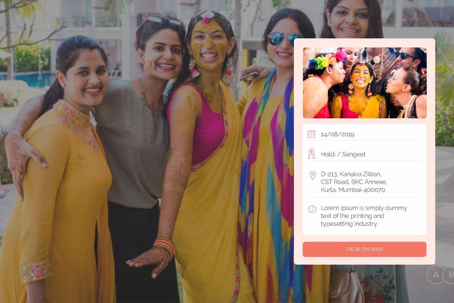 wedding management app