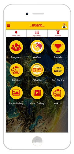 DHL - Employee Engagement App