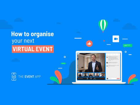 How to organise your next virtual event