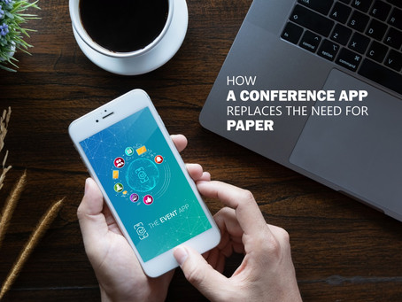 How A Conference App Replaces The Need For Paper