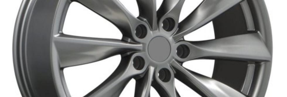 Tesla Model X 19'' Cyclone/Turbine Wheels & Winter Tires & TPMS Package