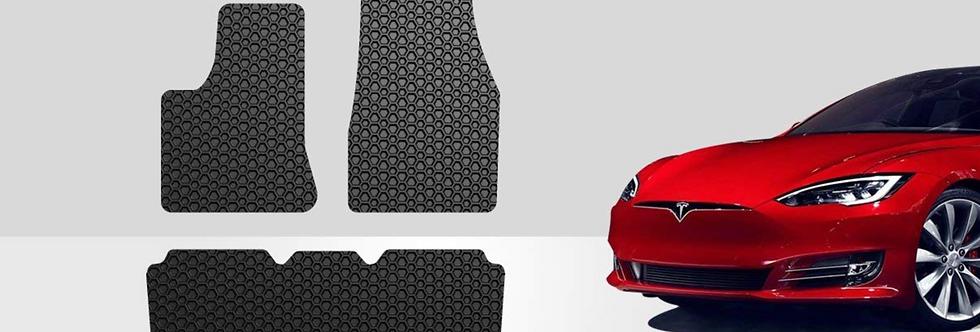 ToughPRO Tesla Model S floor Mats Set - All Weather
