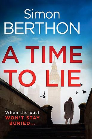 A Time to Lie cover, Simon Berthon
