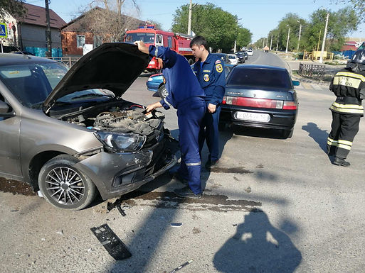 На дорогах Республики Калмыкия за прошедшую неделю произошло 10 ДТП