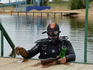 Элистинский Колонский пруд готовится к открытию пляжного сезона