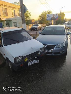 ДТП с участием пяти автомобилей
