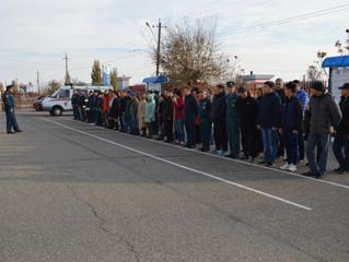 Работники Центра гражданской защиты Республики Калмыкия провели субботник