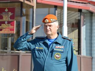 Спасатели Калмыкии почтили память сотрудников гражданской обороны, погибших на боевом посту в мирное