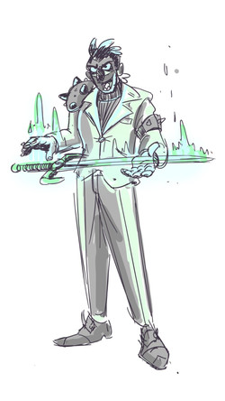 Sword Boss