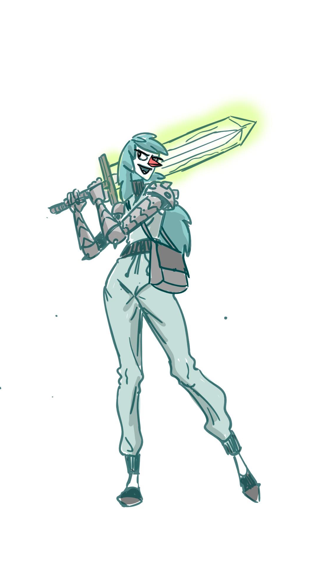 Mint Sword