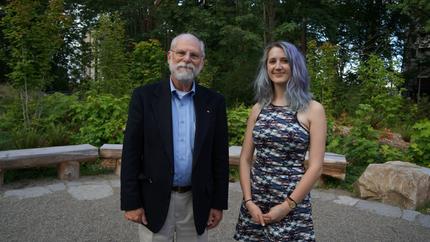 Lisie Receives the David Kingsbury Scholarship