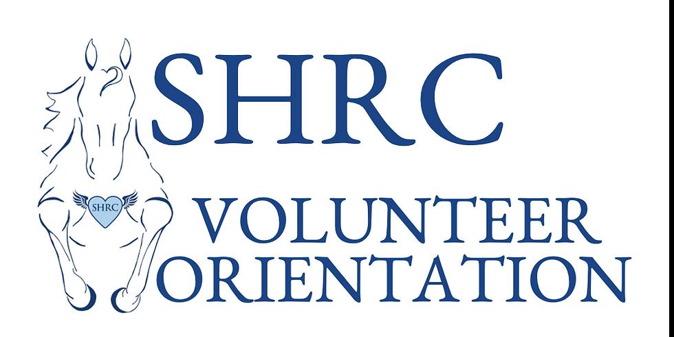 October New Volunteer Orientation