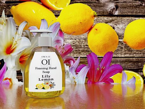 Lily Lemon Foaming Hand Soap